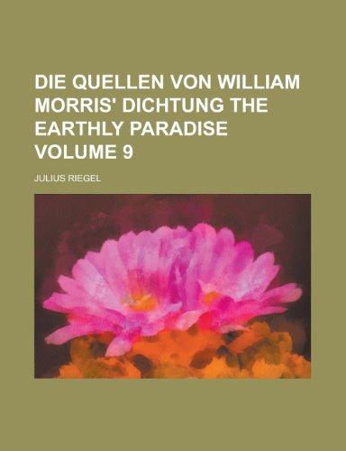 Die Quellen Von William Morris' Dichtung the Earthly Paradise (9)