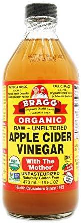 Bragg Apple Cider Vinegar Organic, Raw, Unfiltered, 473 ml