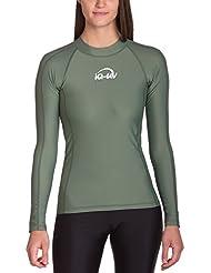 iQ-Company Damen UV Kleidung 300 Shirt Slim Fit Long Sleeve