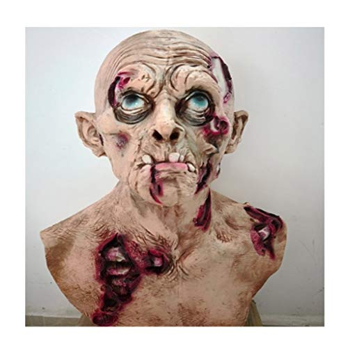 Sloth Erwachsenen Kostüm Für Goonies - Latex Maske (Neuheit Latex Gummi Creepy Horror Goonies Sloth Kopf Masken Gesicht schrecklich for Halloween Kostüm Party) One Size