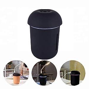3-In-1 USB Gesichtsdampf Fan Nachtlicht Home & Office Mini Luftreiniger Multi-Funktion Pilz Luftbefeuchter