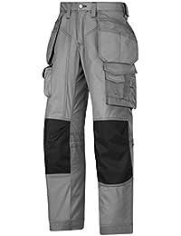 Snickers Bodenlegerhose mit Kevlar, 1 Stück, 248, grau / schwarz, 32231804248