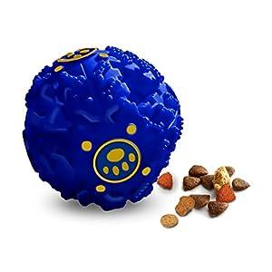 Teeza Ball Treat Dispenser and Interactive Dog Toy