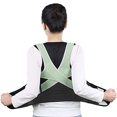 Rücken Korrektur Gürtel für Erwachsene Kinder,Nylon-Spandex-Gewebe Rücken Stütze | Humanisiertes Design Haltungs Korrektor | Einstellbar Rücken Stütze Passt für Männer Frauen Kinder - XS - Haltung Unterstützung Korrektor