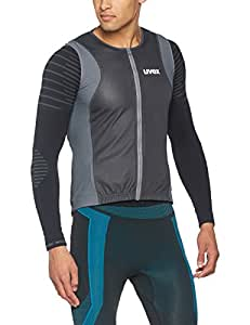 Uvex back connected man de protection-taille :  m (taille 72/dark 175–180 cm gris)