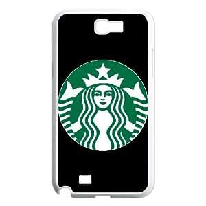 Samsung Galaxy N2 7100 Cell Phone Case White Starbucks 4 Design 14D Case ZZS
