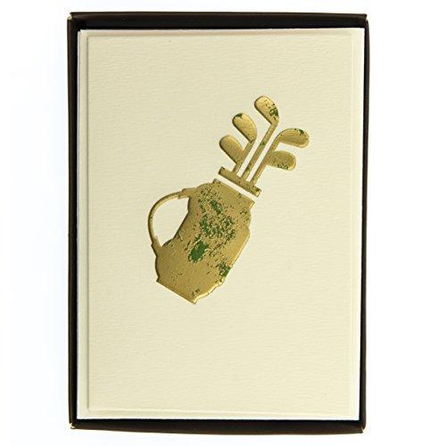 Boxed Notes: Golf – Gruß- und Geschenkkartenbox mit Kuverts: 10 Gruß- und Geschenkkarten mit passenden Umschlägen