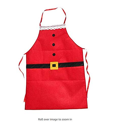 JER - Delantal de Navidad para Adultos, diseño de Cena Familiar, para cocinar, cocinar, Cocinero, decoración de Navidad, Regalo