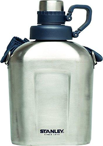 Stanley Messer Stanley Adventure Steel Canteen, 1 Liter, grau, M, 1010360110