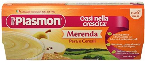 Plasmon Merenda Pera e Cereali - 24 Vasetti da 120 gr