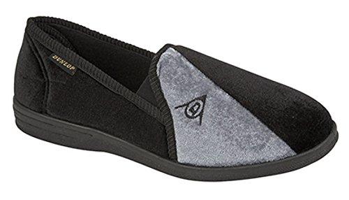 Pantofole Da Uomo Dunlop Duncan Nere