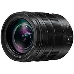 Panasonic LEICA Objectif Zoom Standard pour capteur micro 4/3 12-60mm F2.8-4.0 H-ES12060E (Grande ouverture F2.8, Polyvalent, Stabilisé, Tropicalisé, equiv. 35mm : 24-120mm) Noir - Version Française
