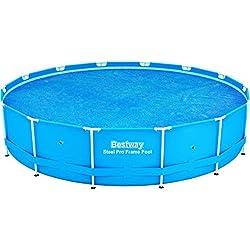 Bestway 58252 - Cobertor solar para piscinas Power Steel, Fast Set