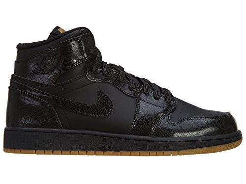 Nike Air Jordan 1 Retro High OG BG, Chaussures de Sport-Basketball Garçon Multicolore