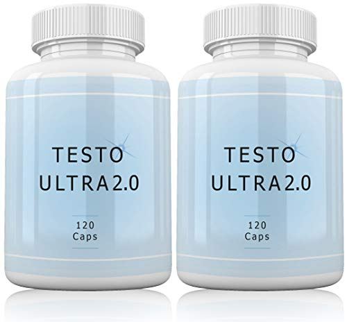 Testo Ultra 2.0 By VargPower | 240 Kapseln | 2er Pack | Testosteron Booster | Testo Booster Extreme | Sehr beliebt bei Männern | Made in Germany