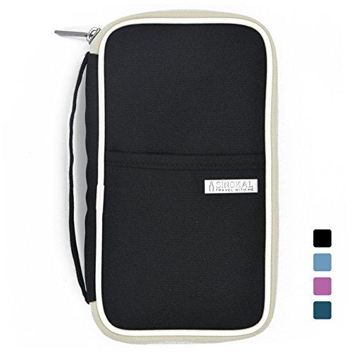 sinokal-pasaporte-organizador-de-billetera-impermeable-bolsa-de-viaje-black