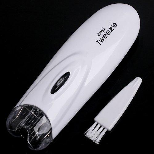 Anself Depiladora de vello facial y pelo corporal,color blanco