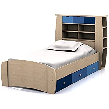 Sydney 3ft Cabin Bed with 3 Drawers - Large Storage Headboard with ...