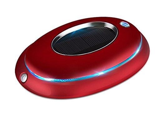 Luftreiniger Solarenergie Auto Luftreinigung Aromatherapie-Maschine Sterilisation Neben Formaldehyd Neben Geruch , red