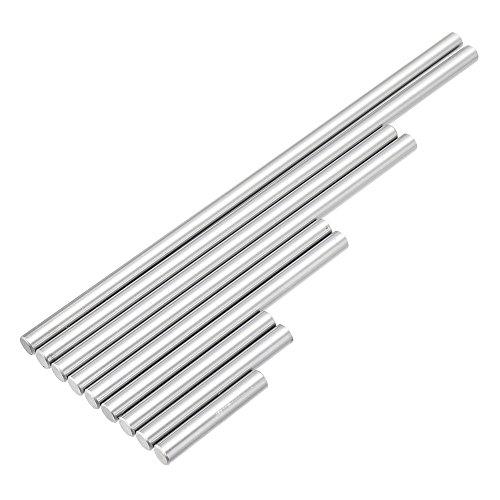 DADEQISH 9 stücke 5,2mm Auswerfer Pins Set 7,4mm Push Rifling Button Auswerfer Pins für Maschine Reibahle Werkzeugzubehör -