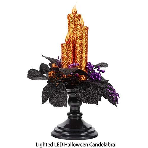 BusyBee candelabro Halloween portavelas LED sin Llama