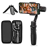 Hohem 3-Axis Gimbal Stabilizer for Smartphone iSteady Mobile Plus Gimbal Handheld with Vlog Youtuber Live Video Record Face Object Tracking Motion Time-Lapse for Phone/Samsung/Huawei and More
