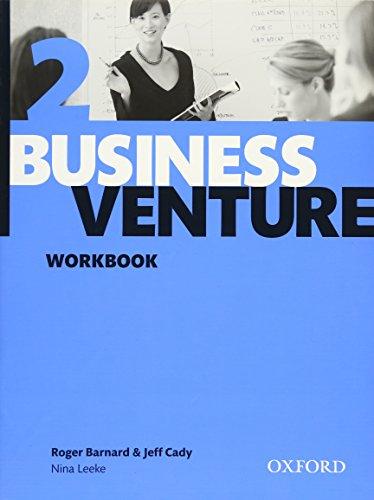 Business Venture 2 Pre-Intermediate: Business Venture 2. Workbook