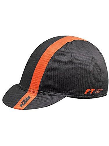 Ktm Cap 2017 Factory Team Schwarz-Orange (One Size , Schwarz)