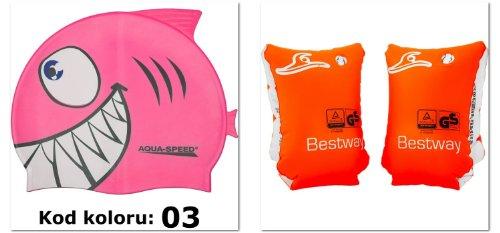 Safe asmi ali + cuffia shark + up adesivo