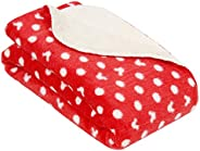 Cutieco Luxury Series Super Soft Baby Wrapper/Blanket/Top Sheet for New Born Babies, Rich Red