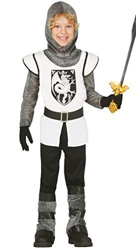 Ritter Mittelalterliche Kinder Tapferen Kostüm - Fancy Me Jungen Tapferen Ritter Mittelalterlich Historisch Buch Kostüm Kleid Outfit 3-12yrs - 7-9 Years