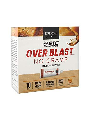 STC Nutrition over Blast no Cramp Start cola instantánea-10x 25g