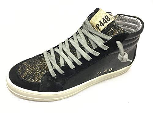 P448 Damen Sneaker A8 Skate Black schwarz 564149
