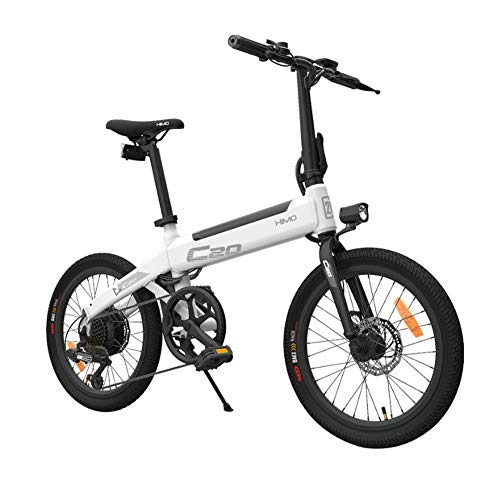 Dušial Foldable Electric Bicycle Electric Bike Folding Bicycle, Folding Bike with Pedals Electric Bike with 250W Motor 25KM/H Portable for Cycling Suitable for Outdoor Casual Travel