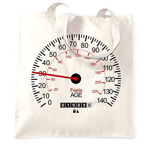 Tim And Ted 30. Geburtstag Tragetasche Auto-Tachometer White One Size -