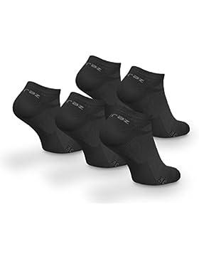 Davraz Füßlinge No Show Sneaker Socken verschiedene Farben 5er-Set