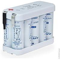 NX - Batterie eclairage secours 10x AA VT 10S1P ST2 12V 800mAh Cosse