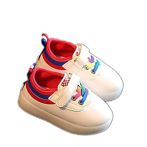 Enfant LED Chaussures,Chickwin Enfants LED Chaussures Lumineuse À Roulettes Garçons