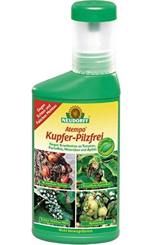 Neudorff Atempo Kupfer-Pilzfrei gegen Fäule an Kartoffeln Tomaten etc. 250 ml Flasche 5,90 EUR/ 100 ml