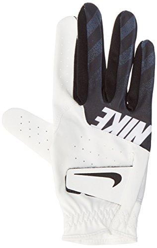 Nike Herren Right Regular Golf Handschuhe, Weiß (White/Black), L (Golf-handschuhe Personalisierte)