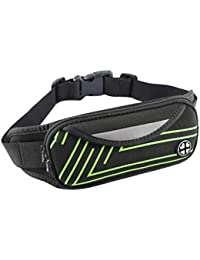 Waterproof Large Capacity Multifunction Waist Pack Bag Fitness Sports Belt Bag Cell Phone Pouch For Running Riding... - B07H3P4LXG