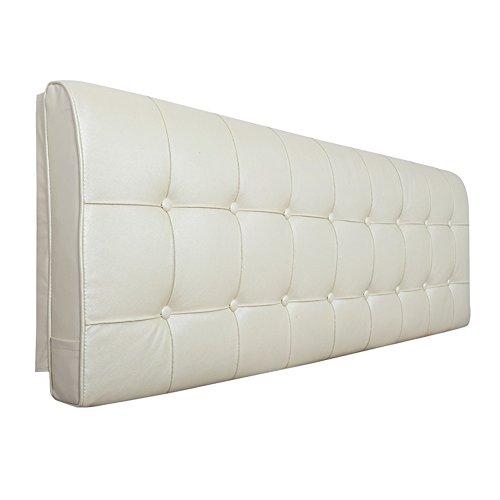 Wenzhe cuscini testiera da letto testiere capezzale cuscino della testata custodia morbida letto matrimoniale multifunzione grande indietro, 2 stili, 6 dimensioni
