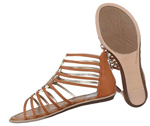 Damen Sandalen Schuhe Sommerschuhe Strandschuhe Riemchen Pumps Weiß Beige Rosa Camel Hellblau 36 37 38 39 40 41 Camel