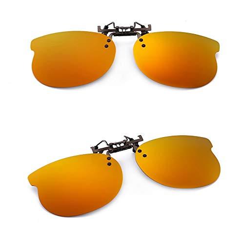 JYTDSA Polarisierte Sonnenbrille Clip auf Brille polarisierende Augen Sonnenbrille linse