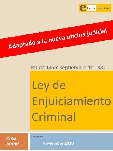 Ley de Enjuiciamiento Criminal por Iuris Books