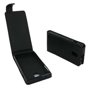 Etui Huawei U8825/G330/BS401 carbone Noir