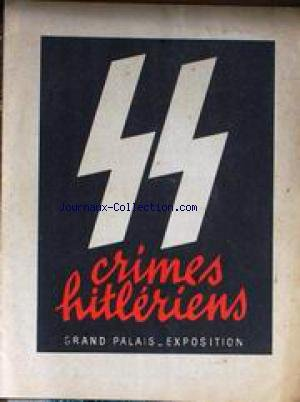 Crimes hitlriens SS : Grand Palais - Exposition