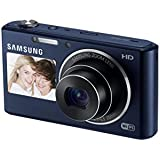 Samsung DV150F 16.2MP Smart WiFi Digital Camera with 5x Optical Zoom and 2.7-inch Front and 1.5-inch Rear Dual LCD Screen (Black), 4GB Card, Camera Case
