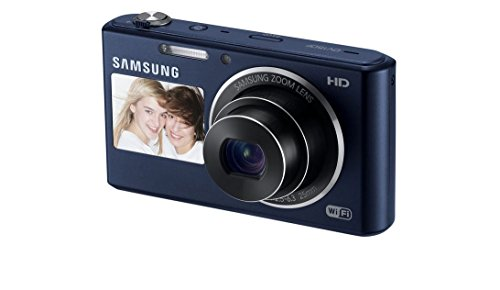 Samsung DV150F 16.2MP Smart WiFi Digital Camera with 5x Optical Zoom and 2.7-inch Front and 1.5-inch Rear Dual LCD Screen (Black)