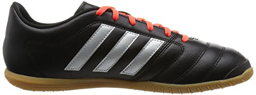 adidas Gloro 16.2 In, Scarpe da Calcio Uomo Nero (Core Black/silver Metallic/solar Red)